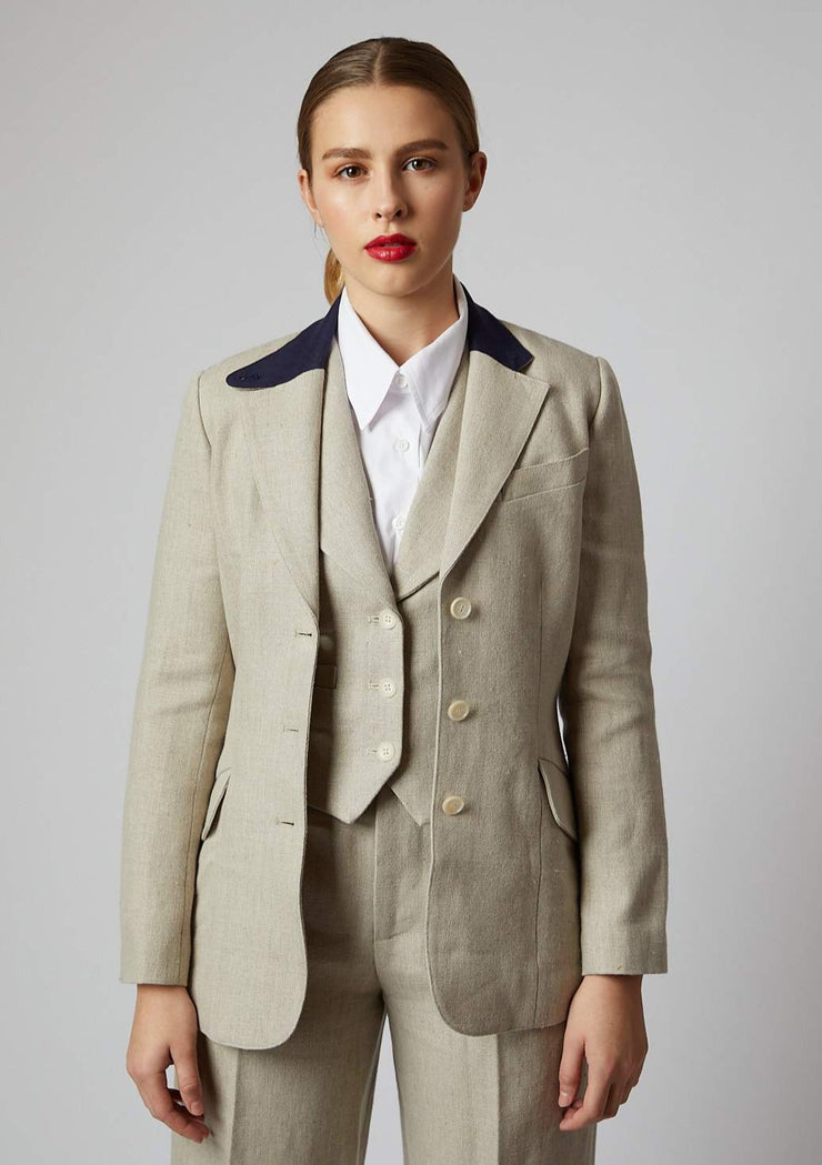 Linen Jacket - Frida Suit Separates