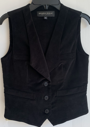 Black Corduroy Frida Vest