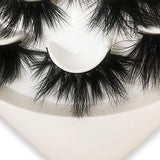 Mikiwi 7 Pair Lashes 25mm Fluffy Mink Lashes Luxury Makeup