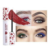 Waterproof Mascara Colored Lashes Mascara 7 PCS Voluminous and Long lasting Mascara for Eyelash and Eye Makeup
