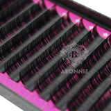 5 Pack of Abonnie High-Quality mink eyelash extension 8-17mm