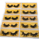 3D Eyelashes Pack 10 styles 20mm Mink Eyelashes Bulk