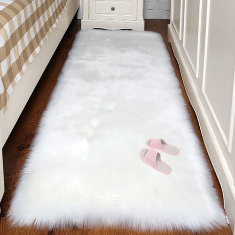 Faux Fur Fluffy Area Rugs