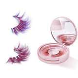 Color Mink False Eyelashes