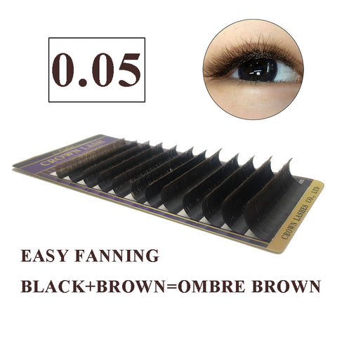Black/Brown Volume Lash