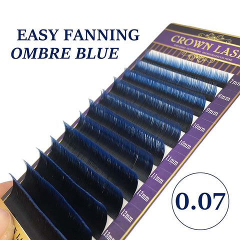 Ombre Blue Easy Volume Lash