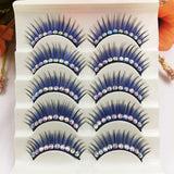 New Blue Bling Eyelashes
