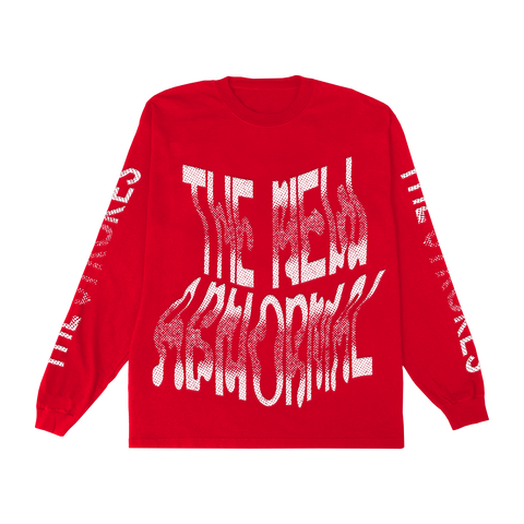 THE NEW ABNORMAL L/S T-SHIRT + DIGITAL ALBUM