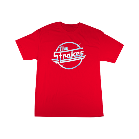 THE STROKES MAGNA LOGO T-SHIRT II + DIGITAL ALBUM