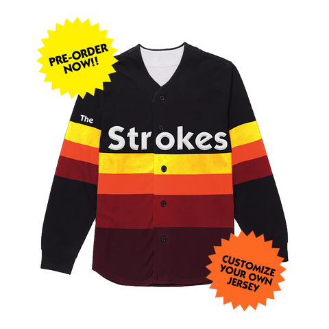 THE STROKES PERSONALIZED JERSEY