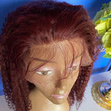 99j Curly Lace Wig 150% Density