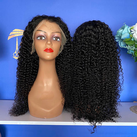 Spanish Curly HD 13x4 Lace Frontal Wig 150% Density