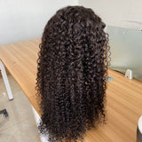 Spanish Curly HD Closure Wig