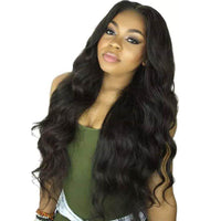 Wavy Loose Body Wave Lace Front Wig 150% Density