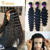 9A Deep wave 3 bundles with matching HD Lace Frontal 13x4