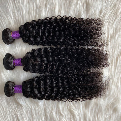Curly Wave Bundle 9A