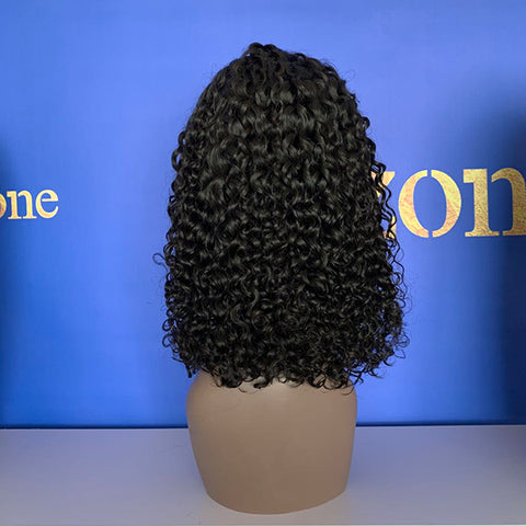 Curly Wig Natural Color 150% Density