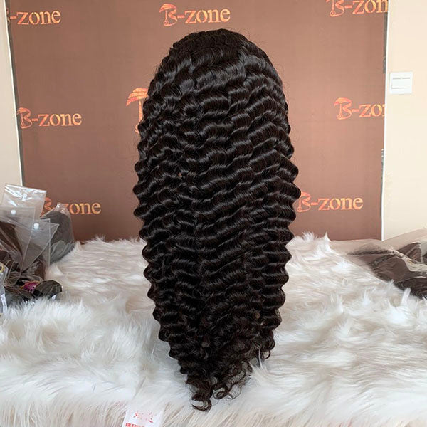 Deep Wave HD Closure Wig