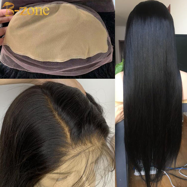 Pre-Made Fake Scalp Wig Raw Indian Virgin Hair Full Lace Wig