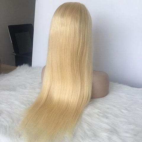 #613 Straight 5×5 transparent Lace Wig 150% Density