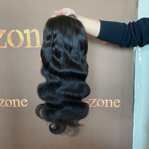 Body Wave 5×5 Lace Closure Wig Natural Color 150% Density