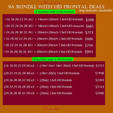 9A bundle with HD frontal Deals
