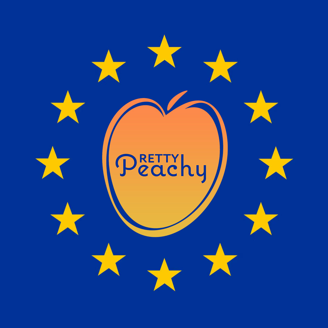 PRETTY PEACHY x EUROPE (EU/EEA SHIPPING NOW AVAILABLE)