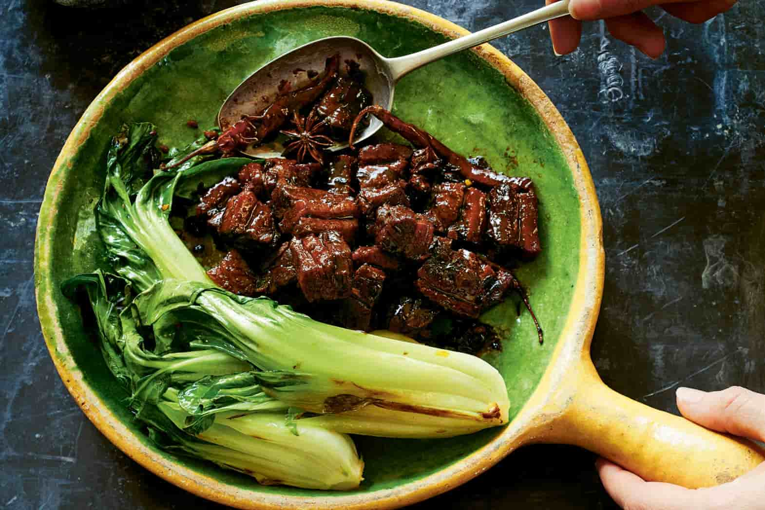 recipe for Ching-He Huang's Braised Hong Sao Pork