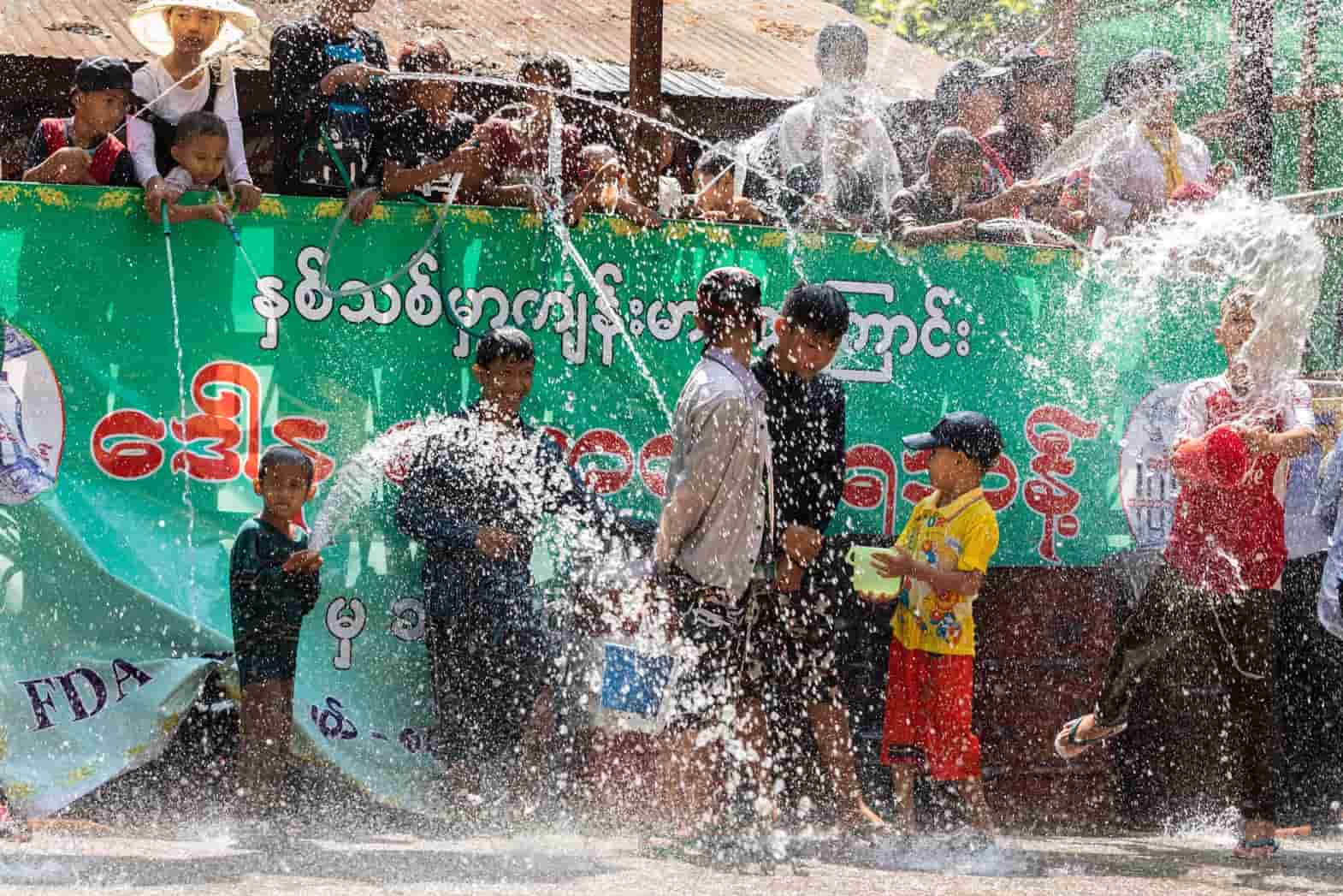 Thingyan Burmese New Year Water Festival