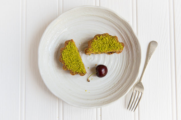 Pistachio And Cherry Frangipane Tarts Recipe