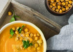 Recipe: Chickpea Soup with Hazelnut Oil Toasts