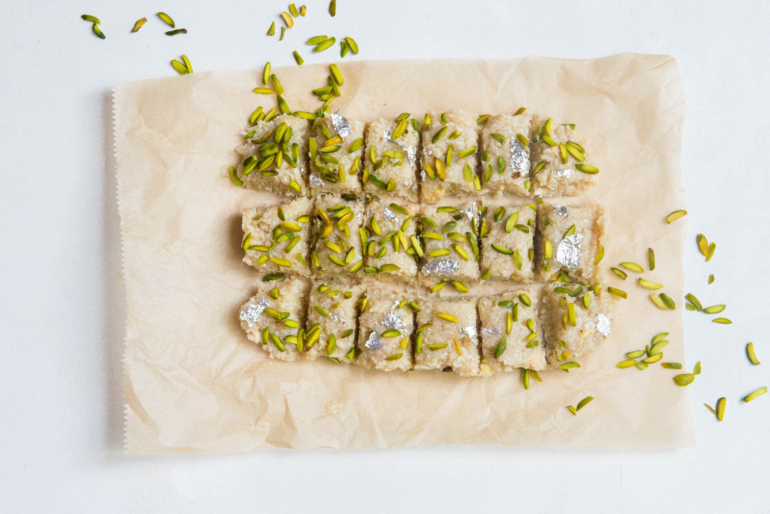 Coconut & Cardamom Barfi Recipe