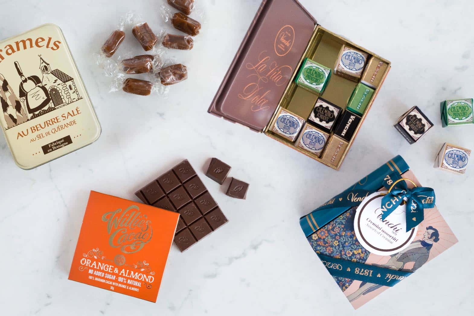 The best gifts for sweet lovers and chocolate lovers