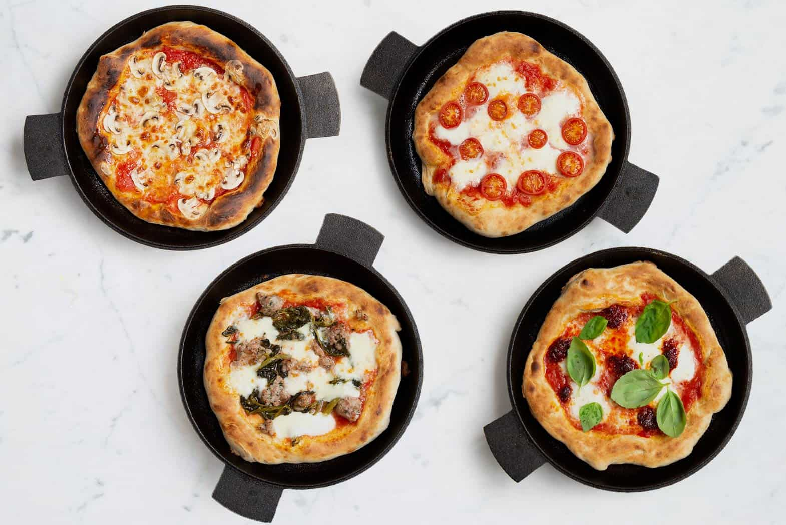 Frying Pan Pizza Recipe
