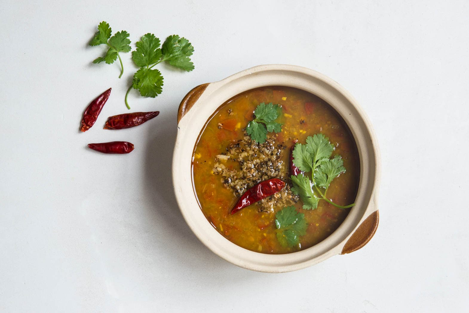 Rasam Sweet-Hot-Sour Tomato Soup Recipe