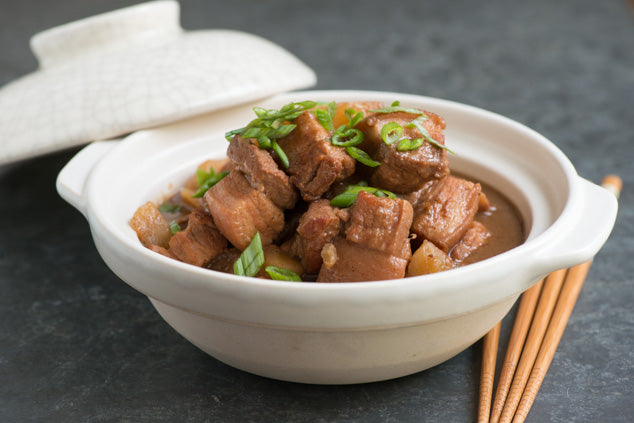 Red Beancurd Braised Pork Belly & Potato