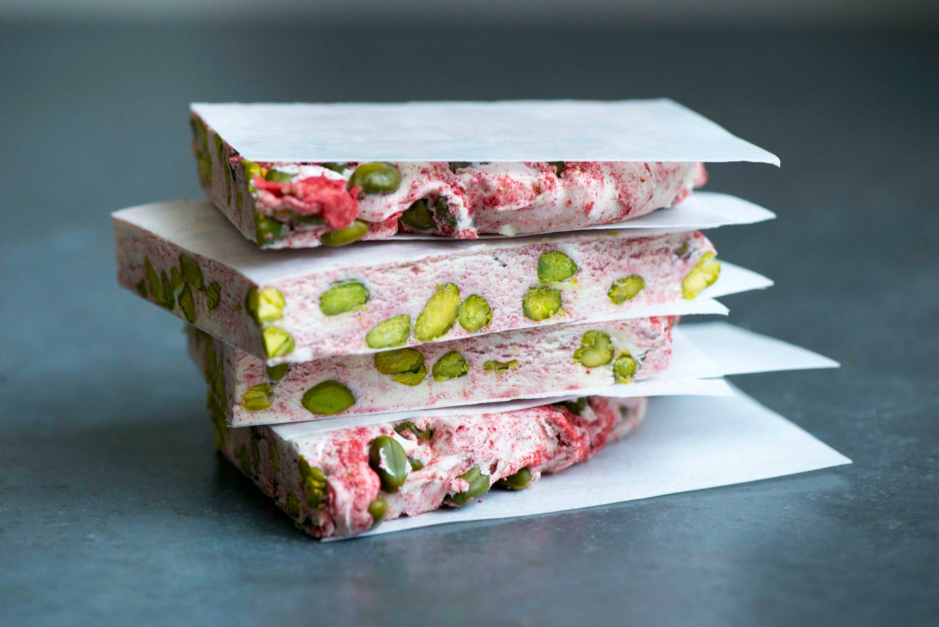 Strawberry & Pistachio Nougat Recipe