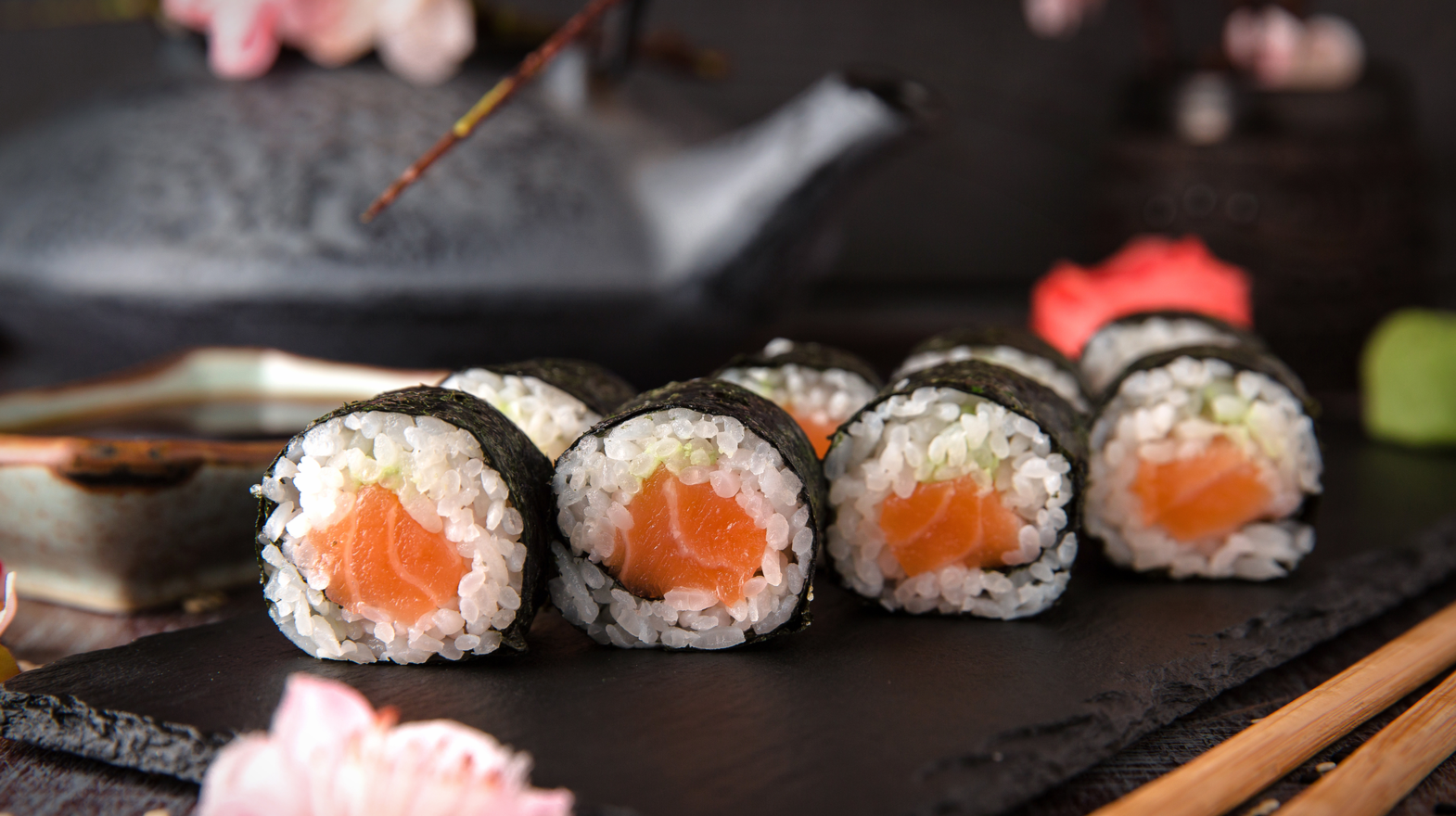 How To Make Sushi  Easy Maki Rolls Step-By-Step