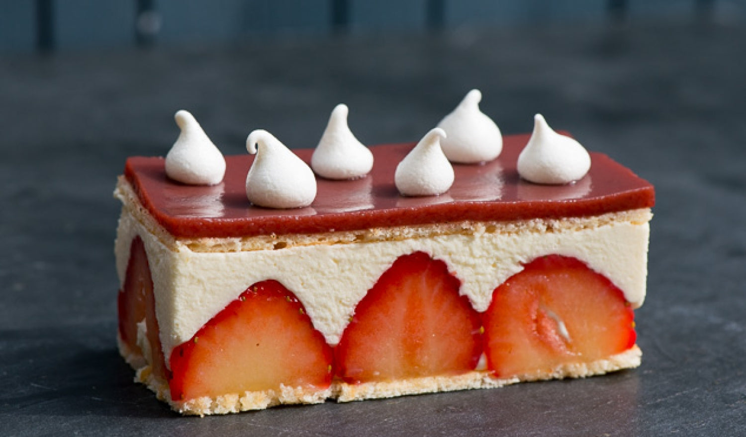 Strawberry Fraisier Recipe