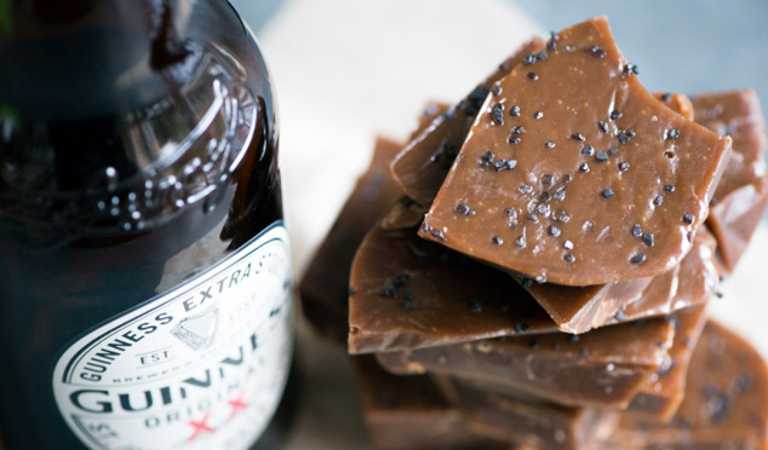 Guinness & Black Salt Caramels Recipe