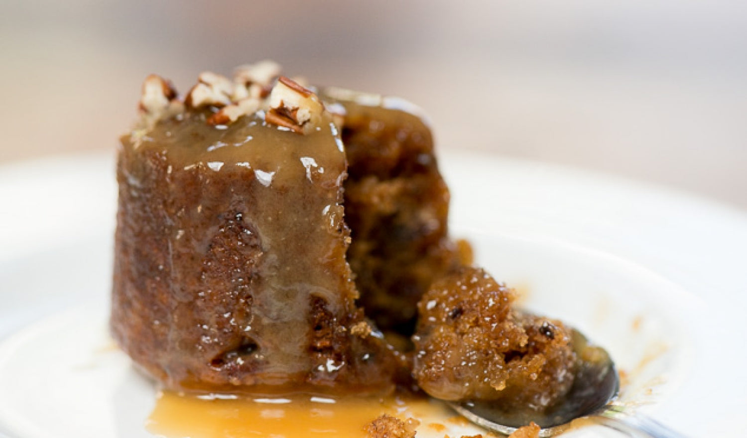 Pecan Smoked Sticky Toffee Pudding Recipe