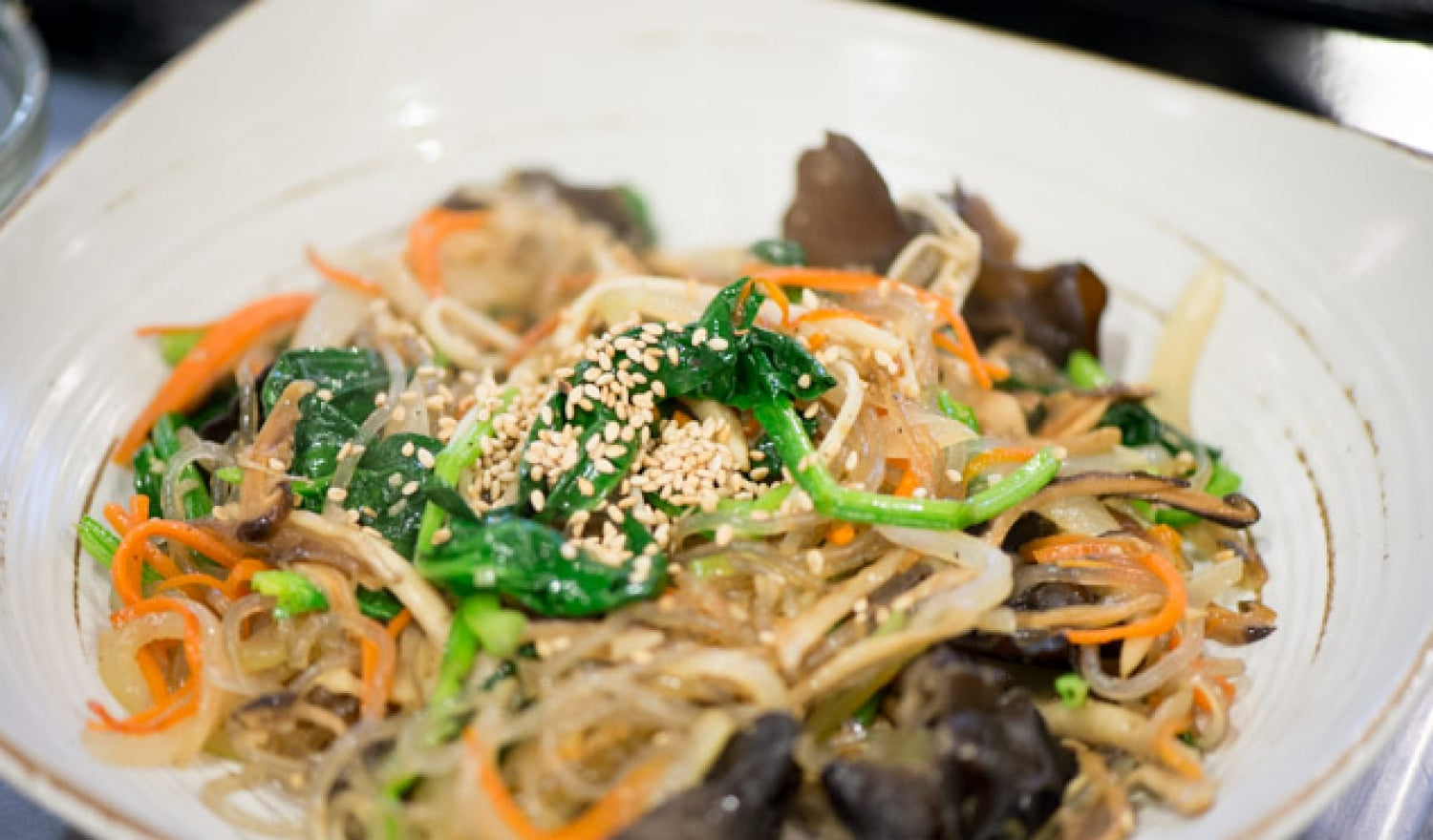 Sweet Potato Noodle Korean Japchae Recipe