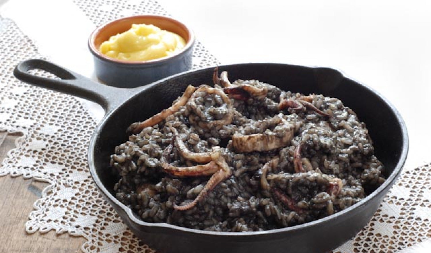 Arroz Negro - Spanish Black Rice Recipe