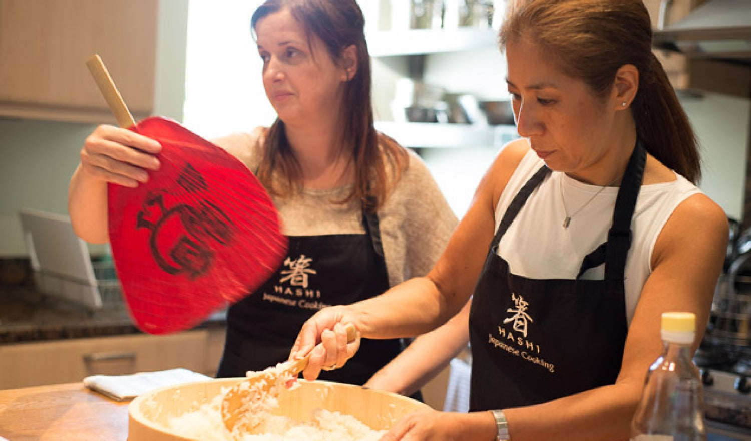 Reiko Hashimoto and a Japanese Cookery Course