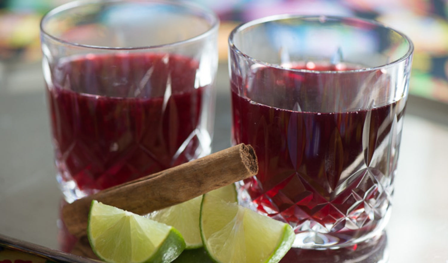 Hibiscus Flower Winter Warmer Cocktail Sous Chef Uk