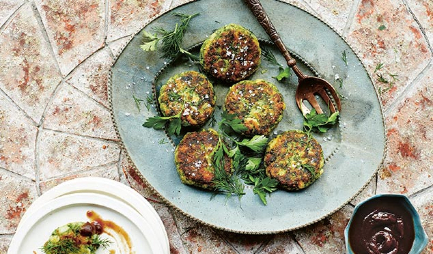 Bandari Fishcakes With A Tamarind And Date Sauce Recipe