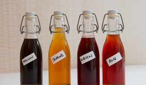 Infusions for Cocktails: Flower Syrup Recipes