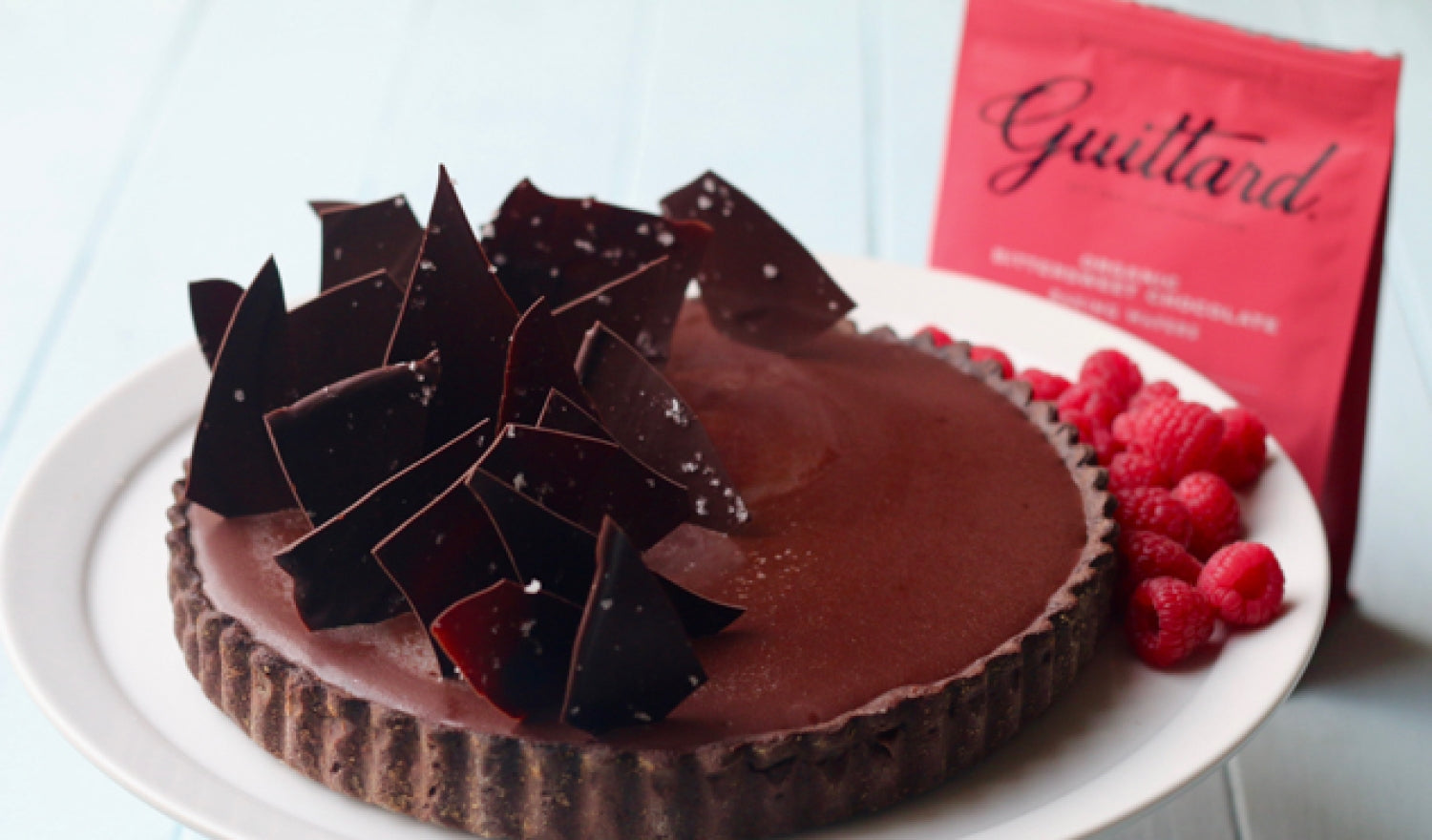 Will Torrent's Salted Caramel And Chocolate Tart Recipe