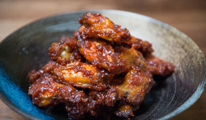 The Ultimate Korean-style Spicy Chicken Wings