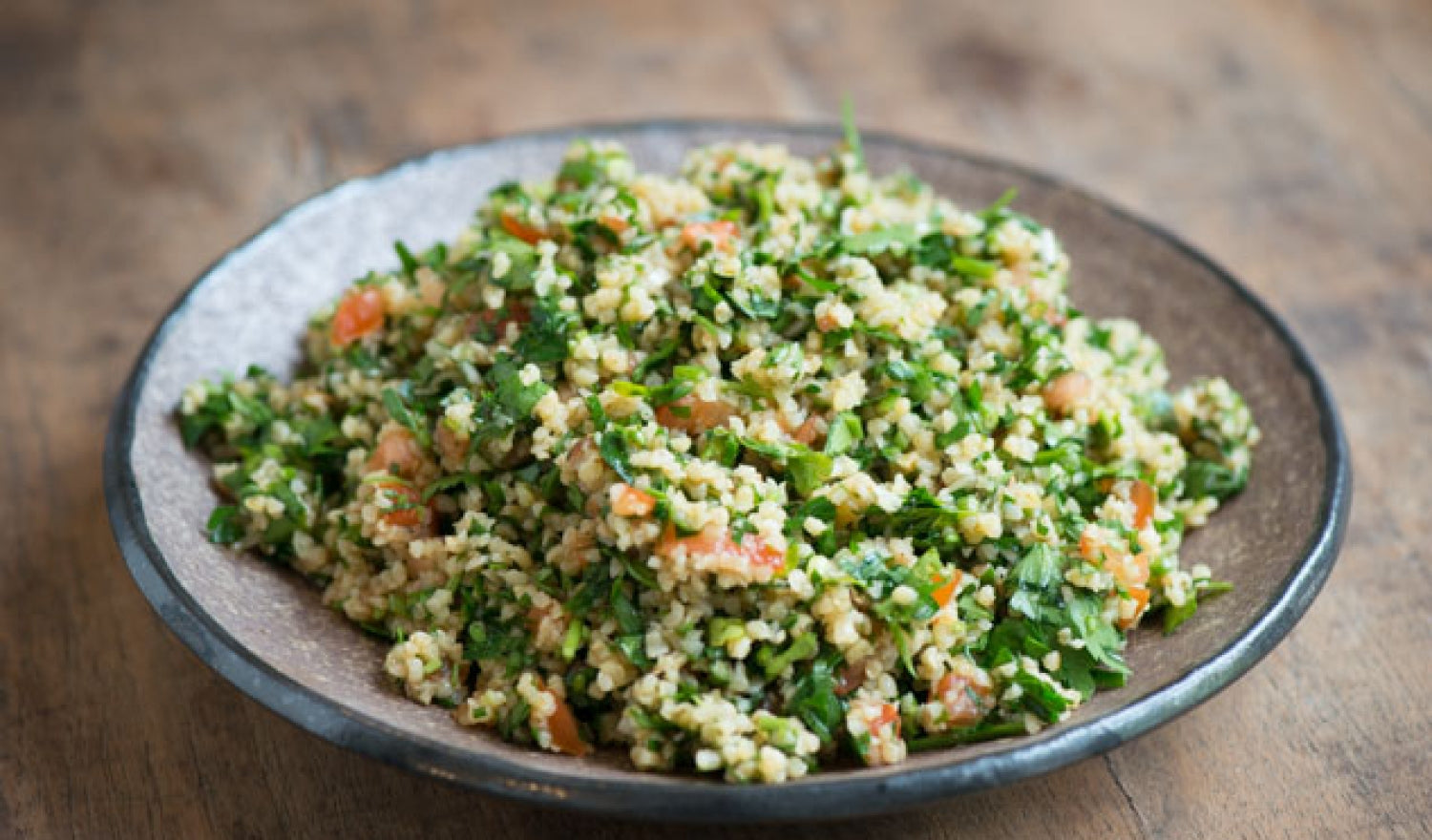 How To Make Tabbouleh Salad With Pomegranate Molasses Dressing